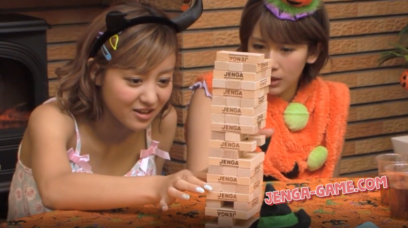 Halloween Jenga Game in Japan