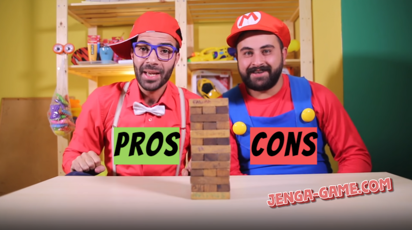 Pros and cons of the giant Jenga