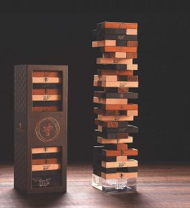 Jenga Premium Set: The Best Game is a Gift Box