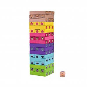 Bimi Boo Wooden Tumbling Tower Toy