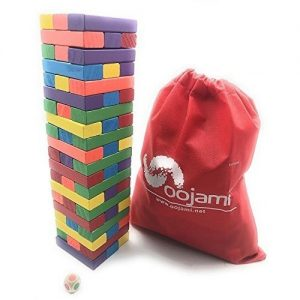 Oojami Wooden Toppling Tower