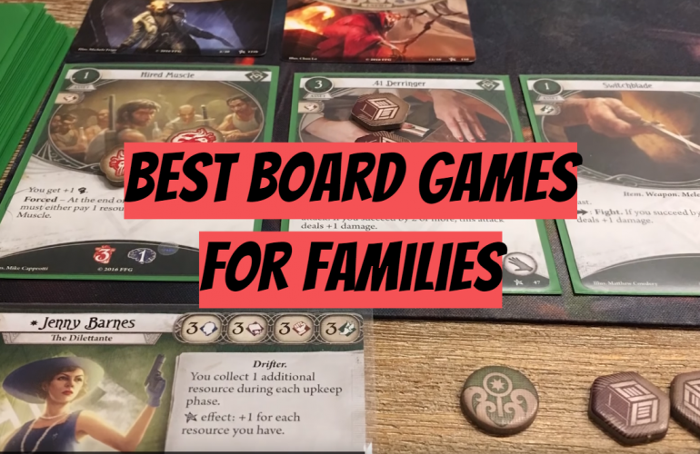 10 Best Board Games for Families