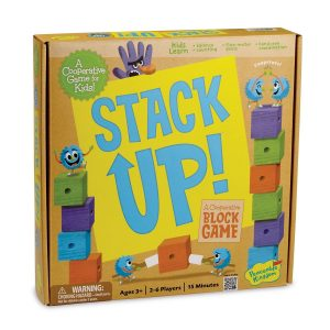 Stack Up! by Peaceable Kingdom - Best Multi-Level Board Game