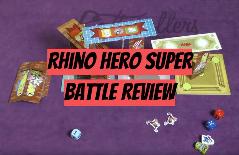 Rhino Hero Super Battle Review