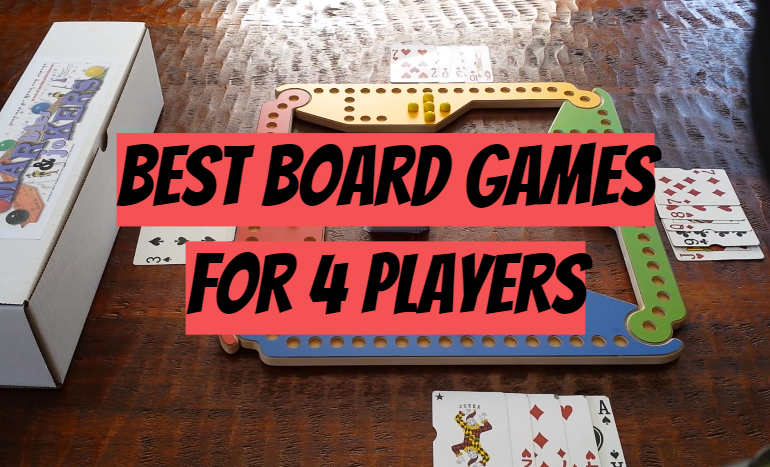 5 Best Board Games for 4 Players