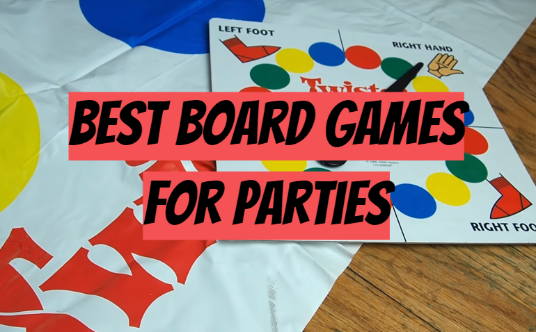 5 Best Board Games for Parties
