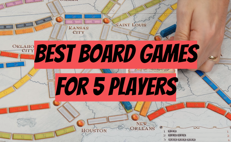 5 Best Board Games for 5 Players