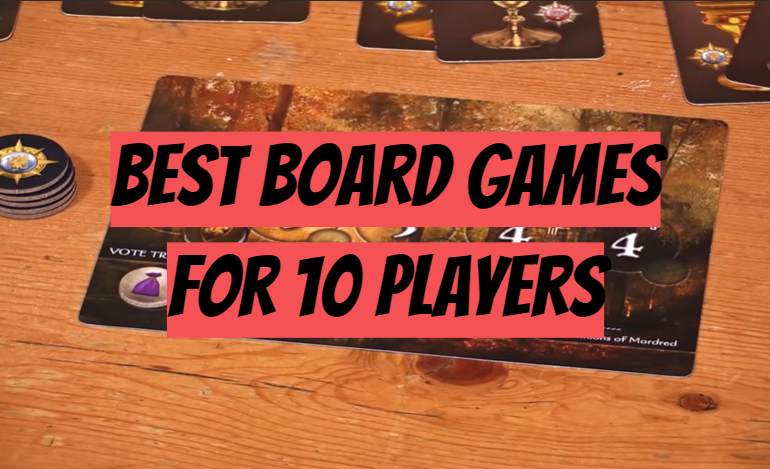 5 Best Board Games for 10 Players