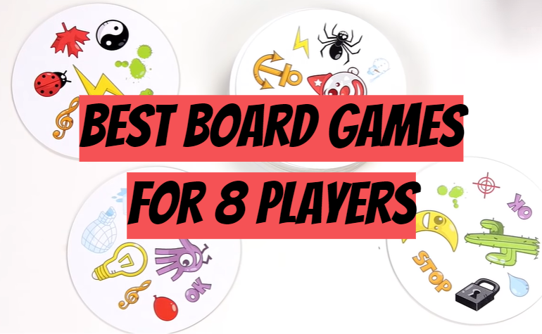 5 Best Board Games for 8 Players