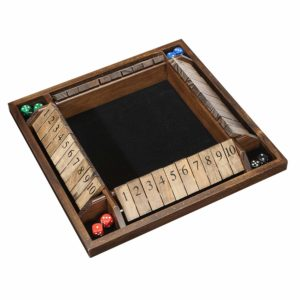 WE Games 4-Player Shut The Box