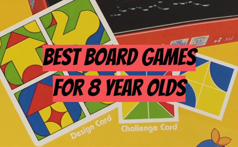 5 Best Board Games for 8 Year Olds