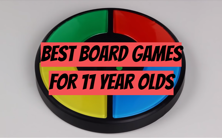 5 Best Board Games for 11 Year Olds