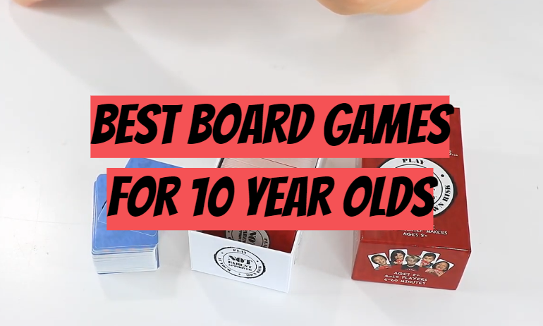 5 Best Board Games for 10 Year Olds