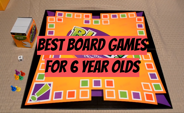 5 Best Board Games for 6 Year Olds