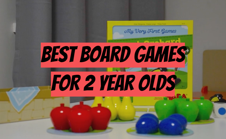 5 Best Board Games for 2 Year Olds