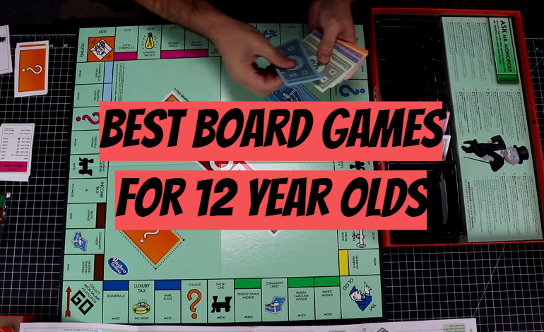5 Best Board Games for 12 Year Olds