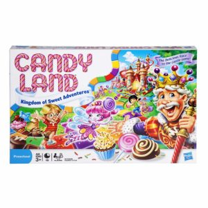 Hasbro Gaming Candy Land Kingdom Of Sweet Adventures Board Game