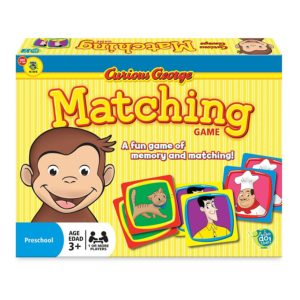 Wonder Forge Curious George Matching Game for Boys & Girls