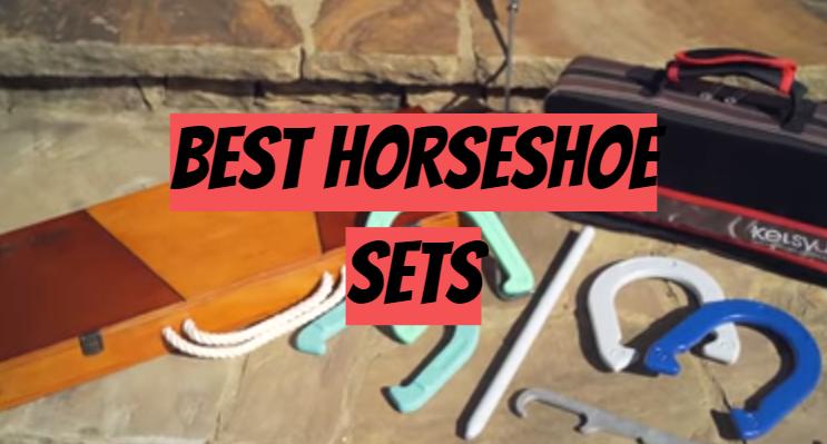 5 Best Horseshoe Sets