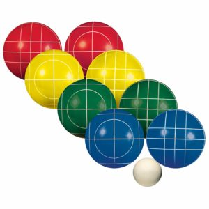 Franklin Sports Bocce Sets - Regulation Bocce Balls and Pallino