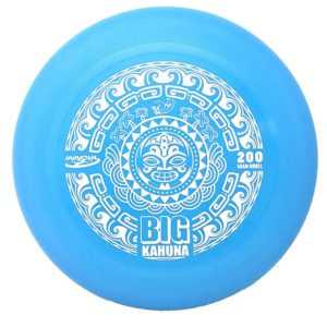 Innova Big Kahuna Heavyweight Ultimate Throw and Catch Disc Tiki Black