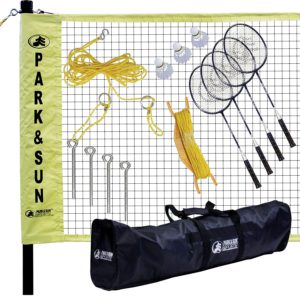 Park & Sun Sports Portable Indoor Outdoor Badminton