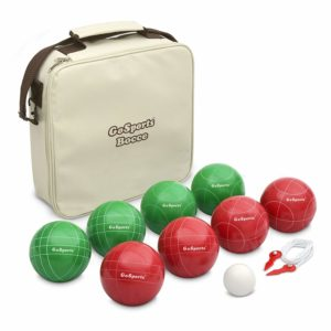 GoSports 100mm Regulation Bocce Set with 8 Balls