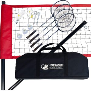 Park & Sun Sports Portable Outdoor Badminton