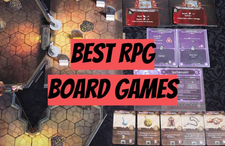 5 Best RPG Board Games