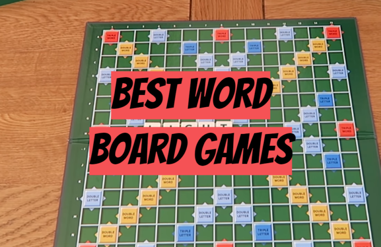 5 Best Word Board Games