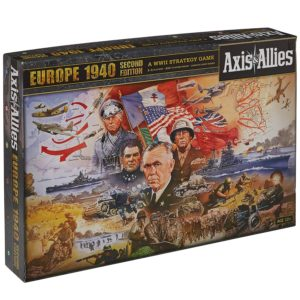 Wizards of the Coast Axis and Allies Europe 1940 2nd Edition Board Game