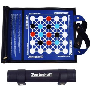 Zenteeko Roll Up Abstract Strategy Travel Board Game