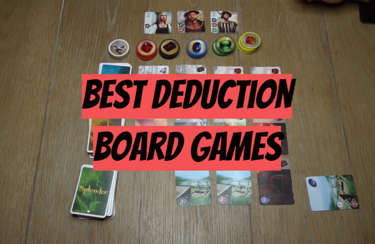 5 Best Deduction Board Games