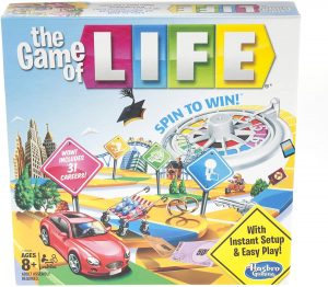 Gaming The Game of Life Board Game Ages 8 & Up